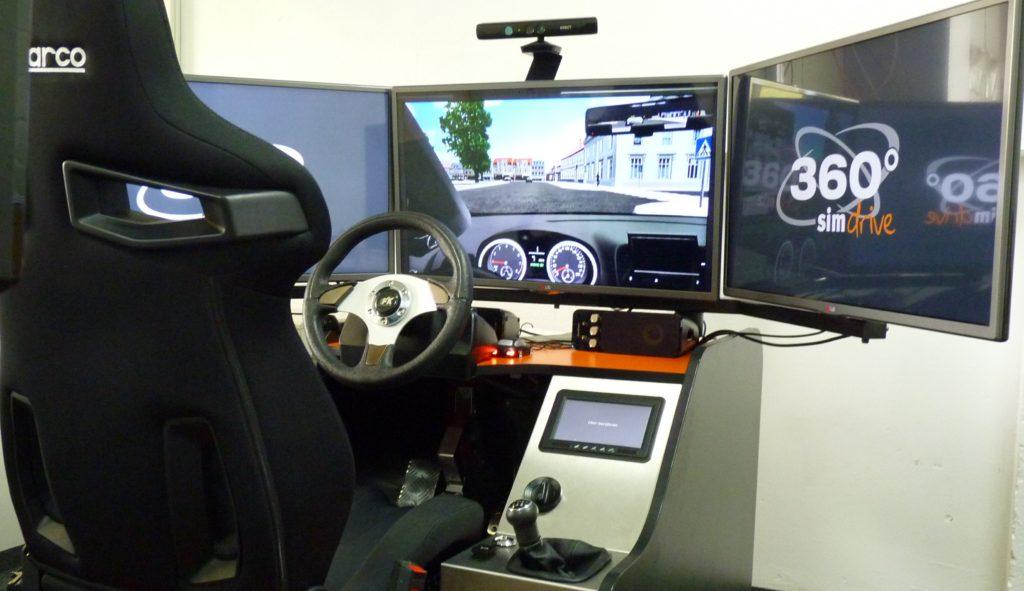 Fahrsimulator - Zeilmann AVUS