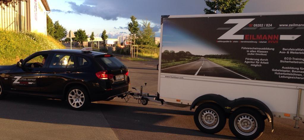 Klasse BE oder Schlüsselzahl B96 - Führerschein für Caravan und Wohnwagengespanne